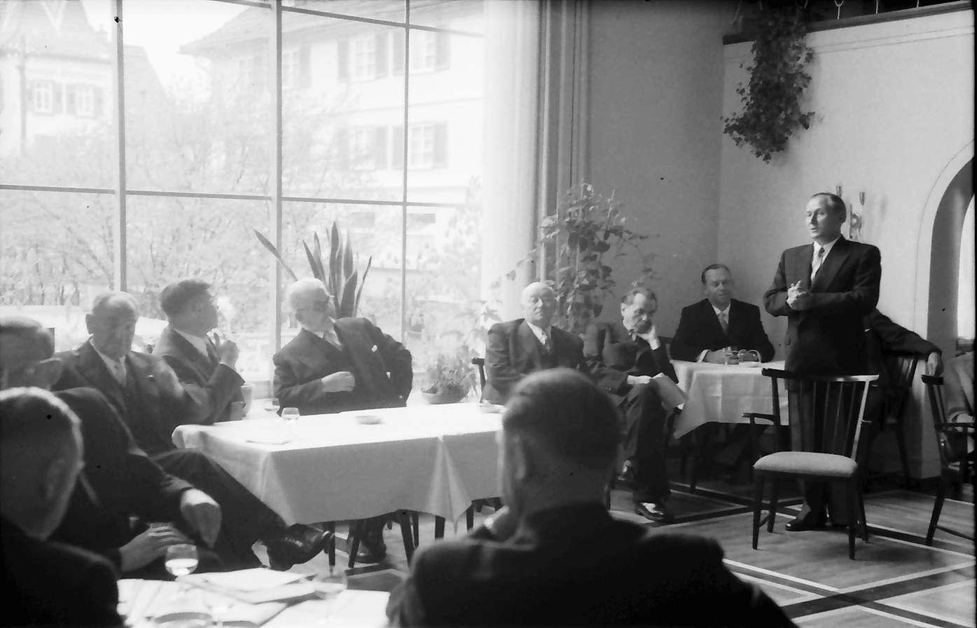 Freudenstadt: Kurhaus; Pressekonferenz im kleinen Kursaal, Bild 1