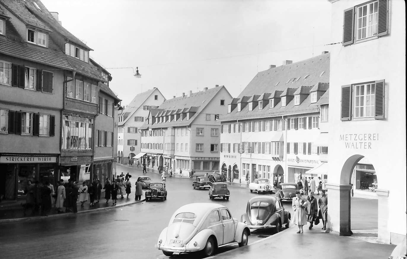 Freudenstadt: Lossburger Straße vom Gasthaus Zum Stark, Bild 1