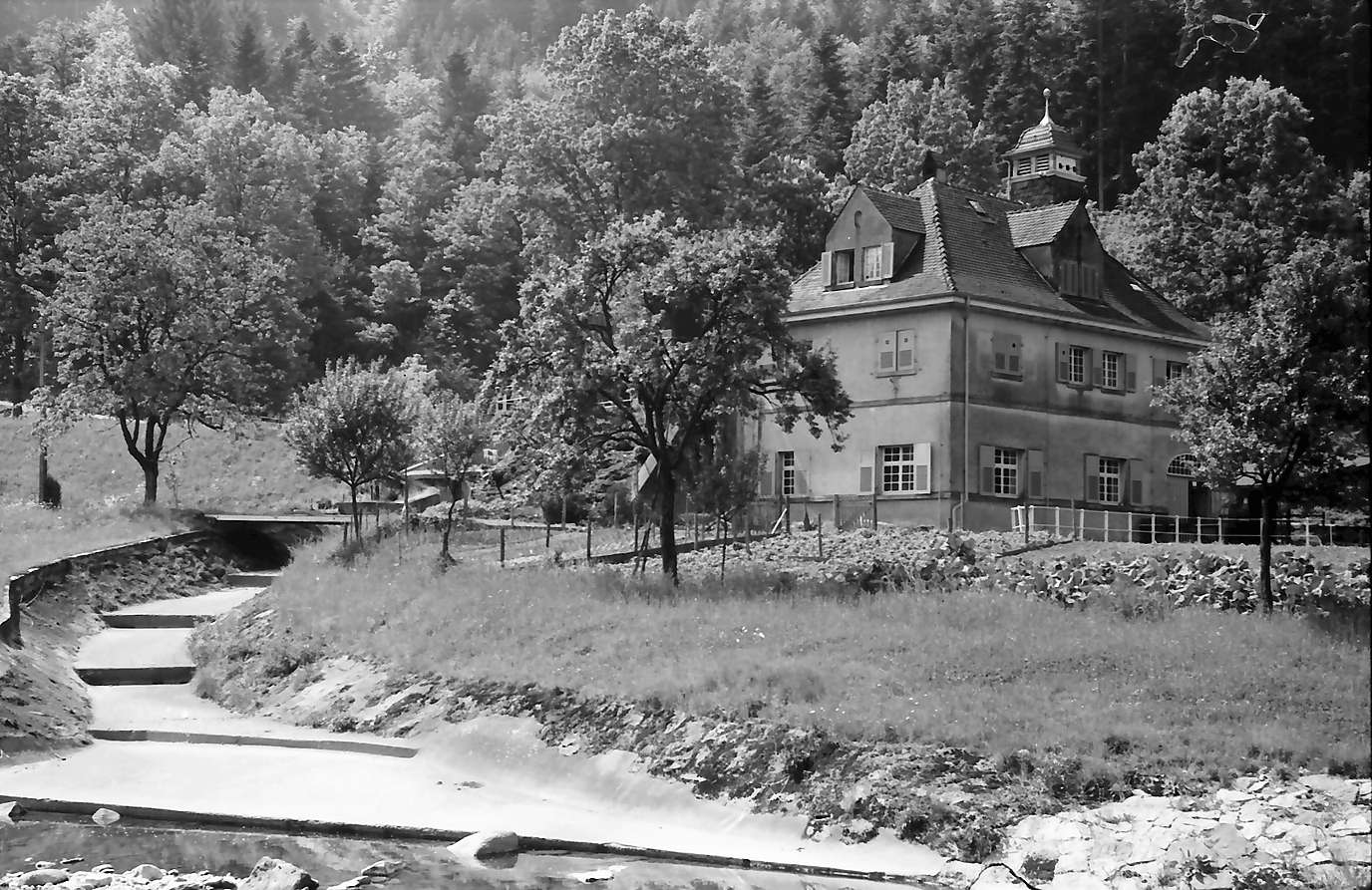 Lautenbach: Kraftstation der Köhler Papierfabrik, Bild 1