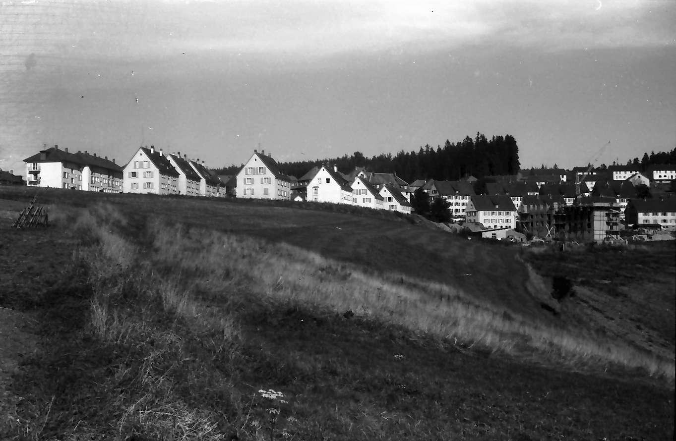St. Georgen (Schwarzwald): Gesamtansicht, Panorama, vom Ortseingang, Bild 1