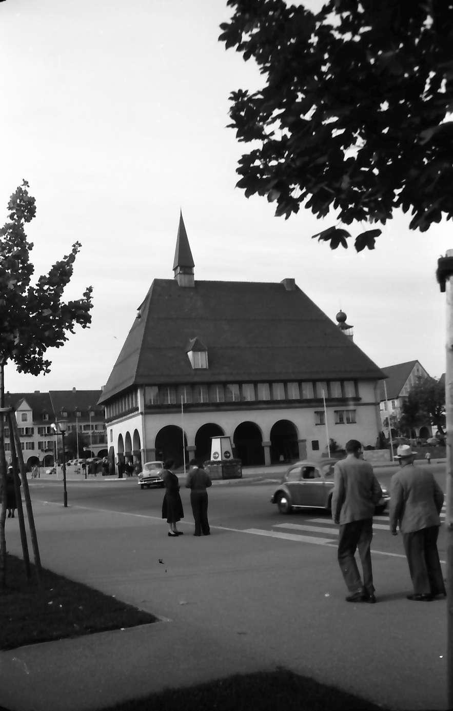 Freudenstadt: Verkehrsamt von der Promenade, Bild 1