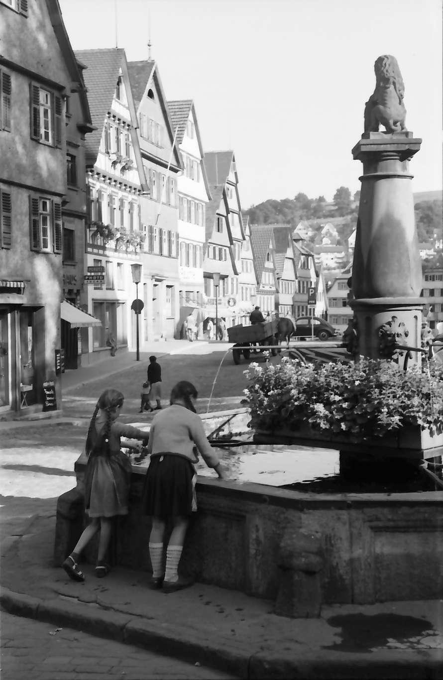 Calw: Brunnen am Marktplatz, Bild 1