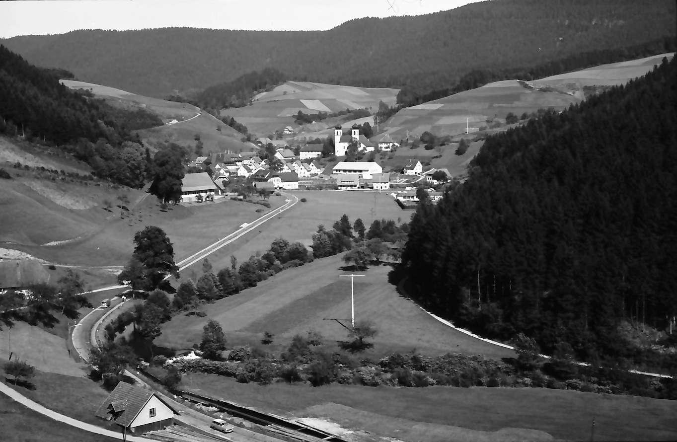 Schapbach: Tal mit Blick auf Schapbach, Bild 1