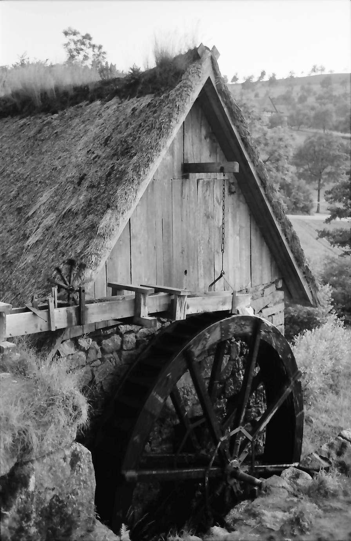 Sasbachwalden: Alte Mühle, Mühlrad, Bild 1