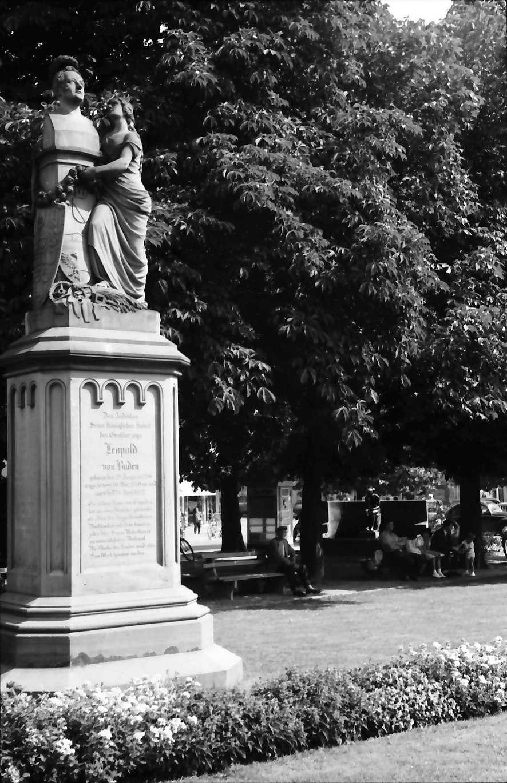 Achern: Denkmal Leopold von Baden, Bild 1