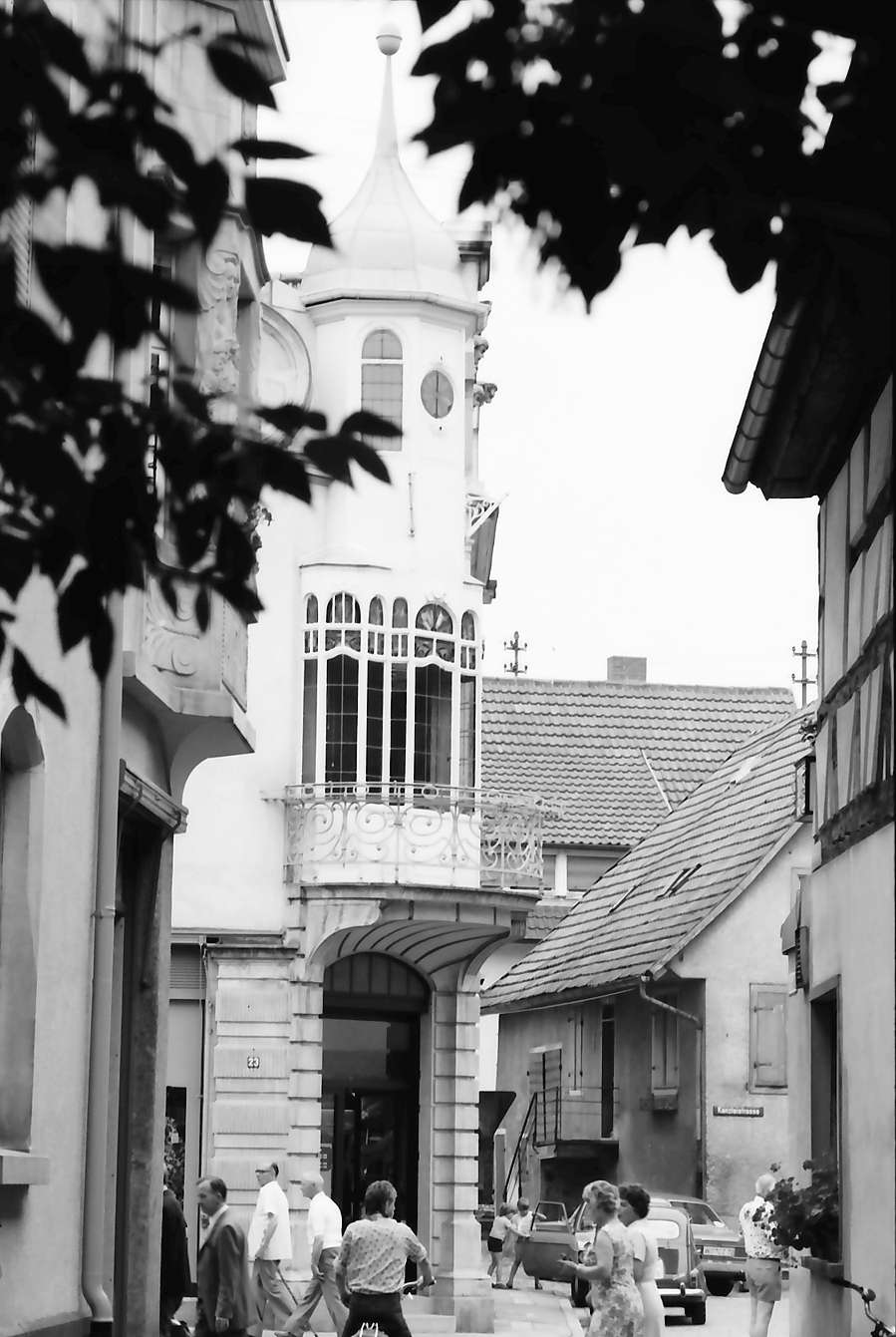 Zell am Harmersbach: Jugendstilerker in der Hauptstraße, Bild 1