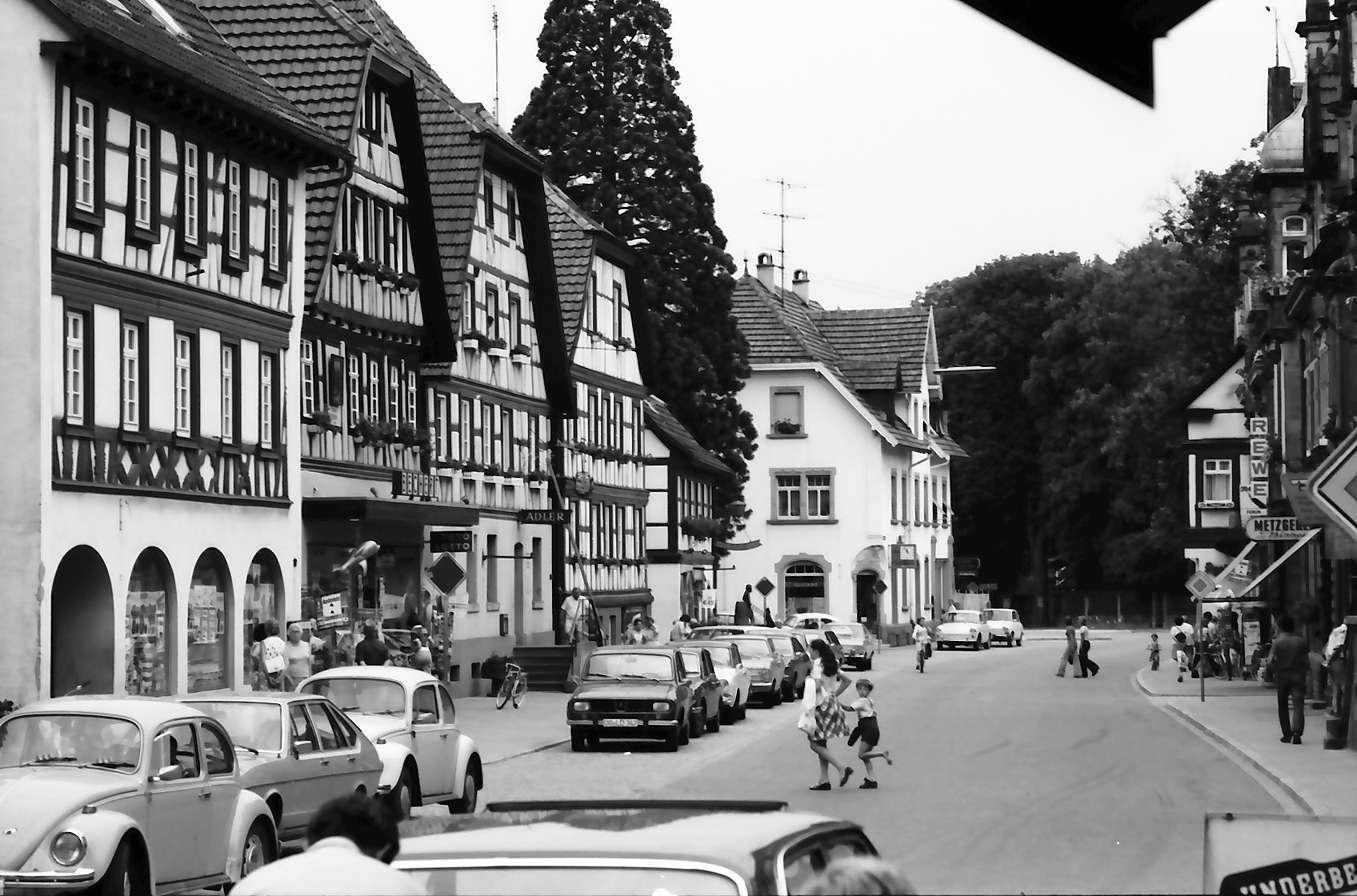 Zell am Harmersbach: Hauptstraße, Bild 1