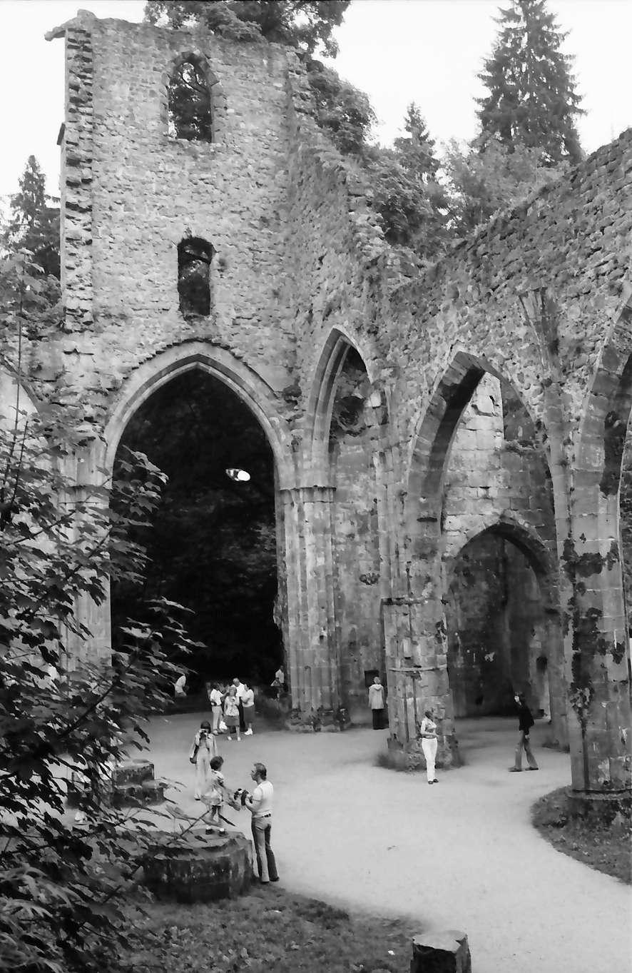 Allerheiligen: Klosterruine Allerheiligen, innen, Bild 1