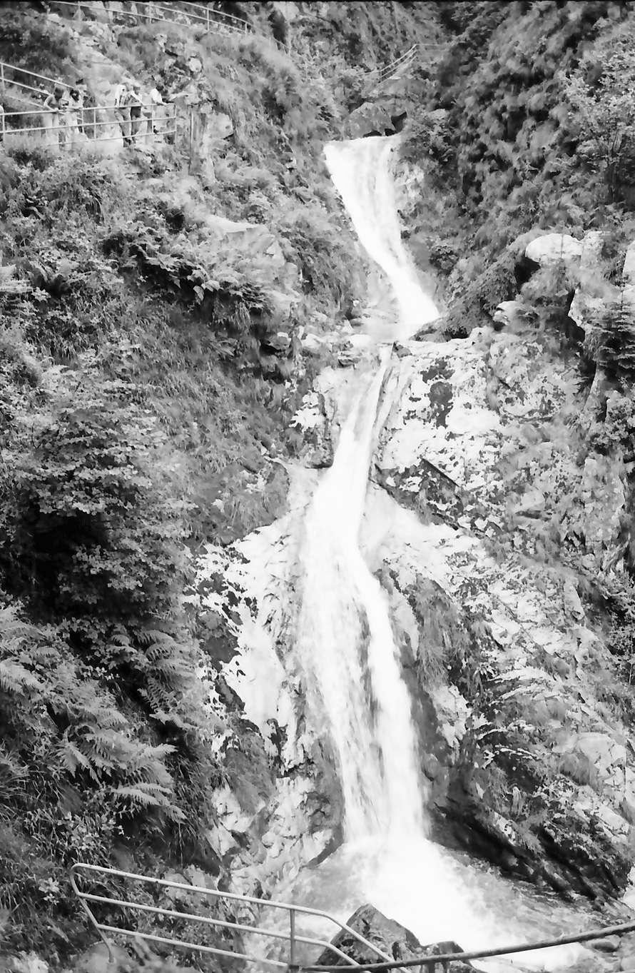 Allerheiligen: Allerheiligen Wasserfälle, oberer Fall, Bild 1