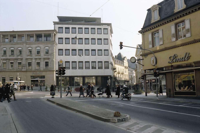 Baden-Baden: Leopoldsplatz von Westen, Bild 1