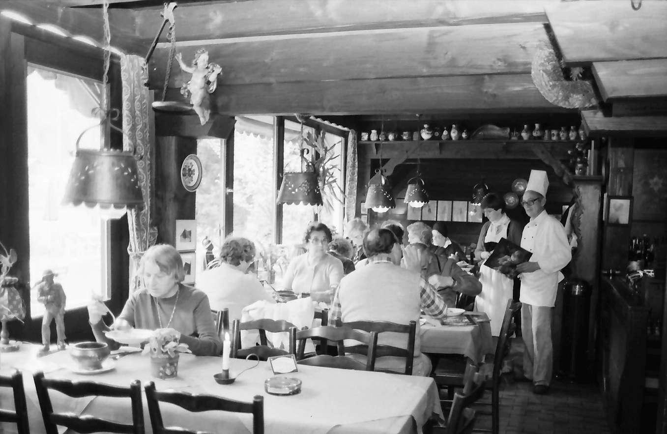 Gutach: Landgasthaus Zum Museum, Restaurant innen, Bild 1