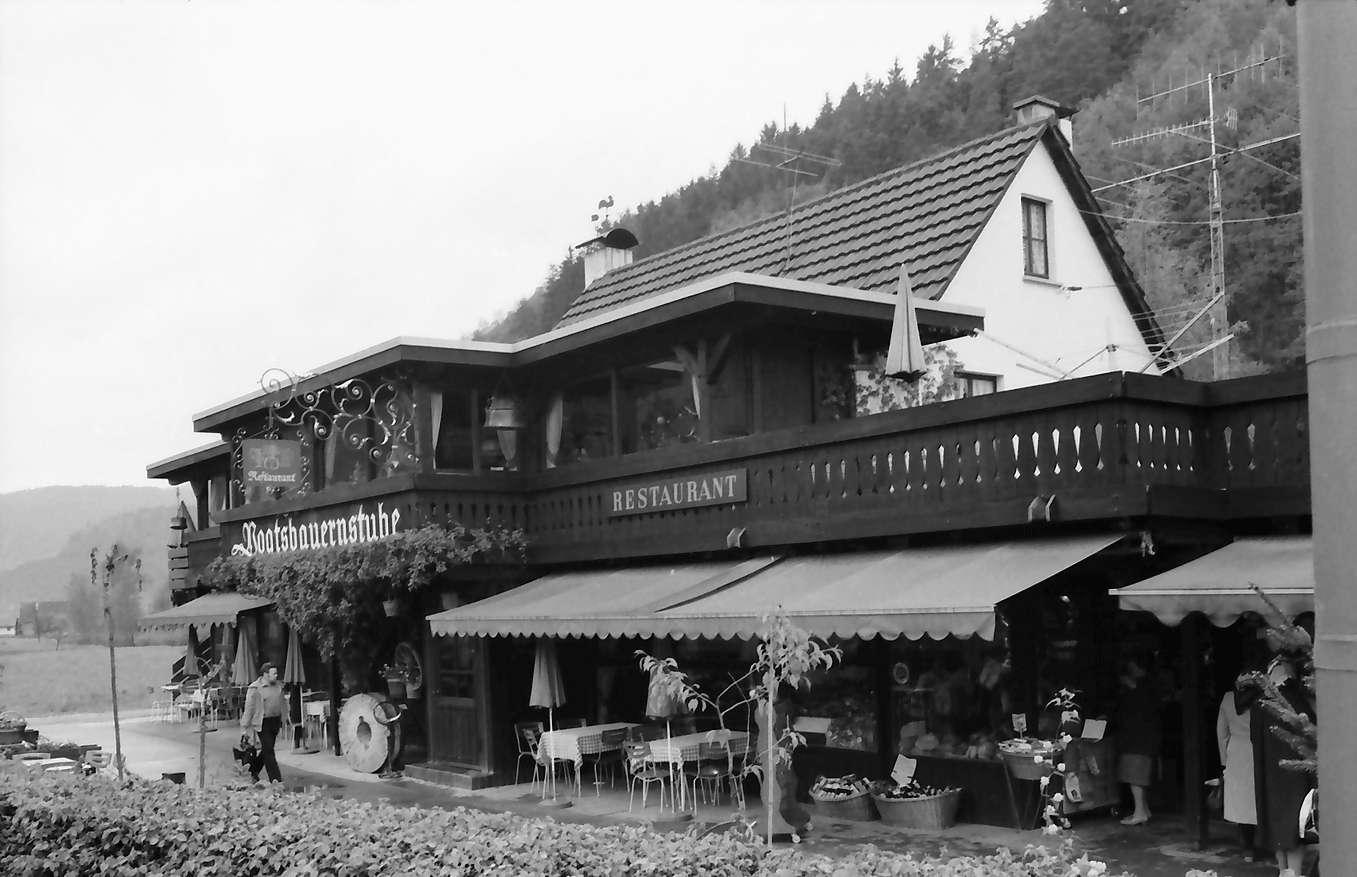 Gutach: Vogtsbauernstube, außen, Bild 1