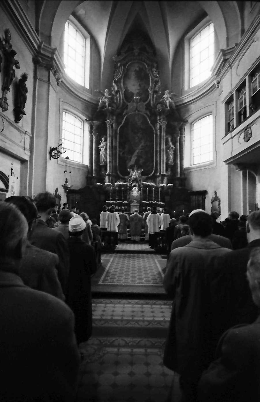 Donaueschingen: Donaueschinger Musiktage; Morgenfeier in der Pfarrkirche, Bild 1