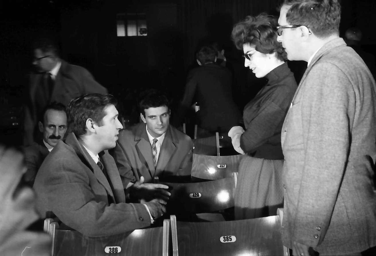 Donaueschingen: Donaueschinger Musiktage; während der Proben: Schuller, Berberian, Berio, Bild 1