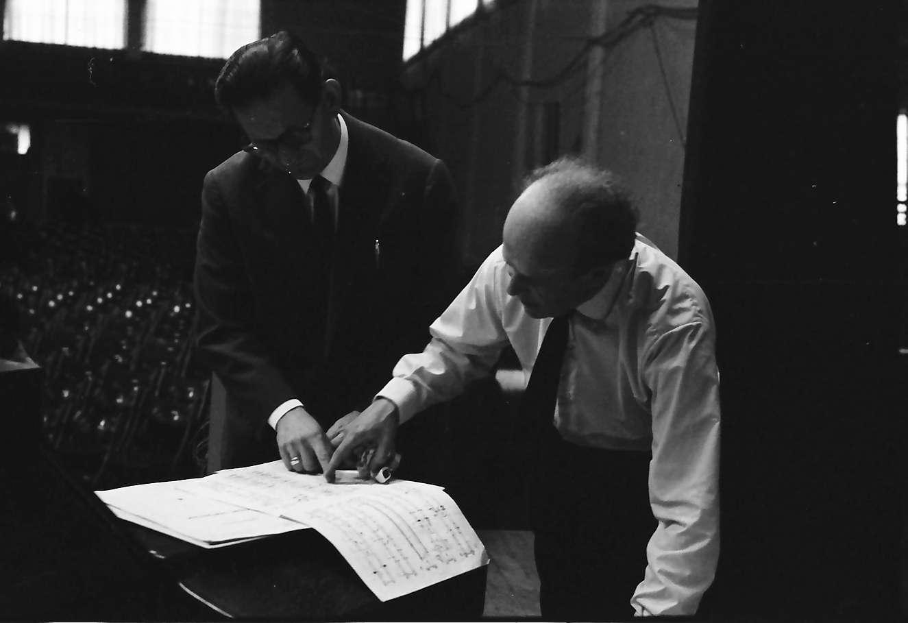 Donaueschingen: Donaueschinger Musiktage; Ernest Bour, Bild 1