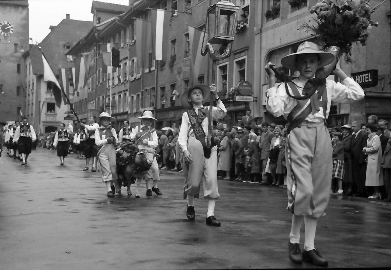 Waldshut: 489. Waldshuter Chilbi; Chilbibock im Festzug, Bild 1