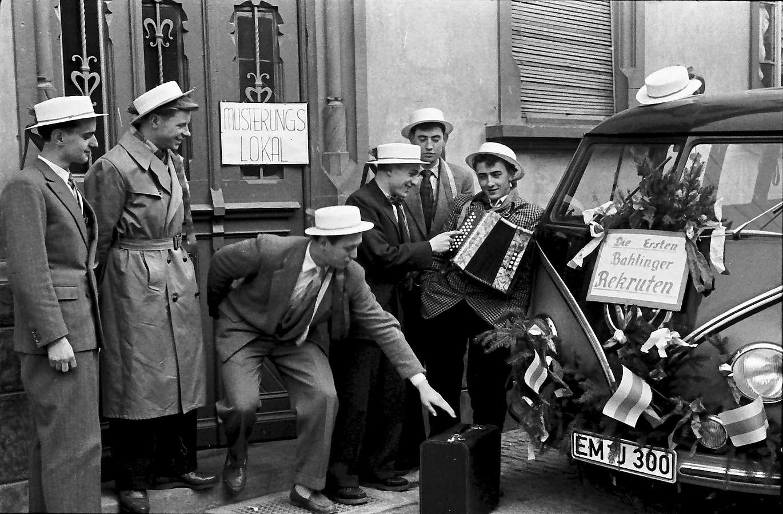 Endingen: Die ersten neun Rekruten aus Bahlingen, Bild 1