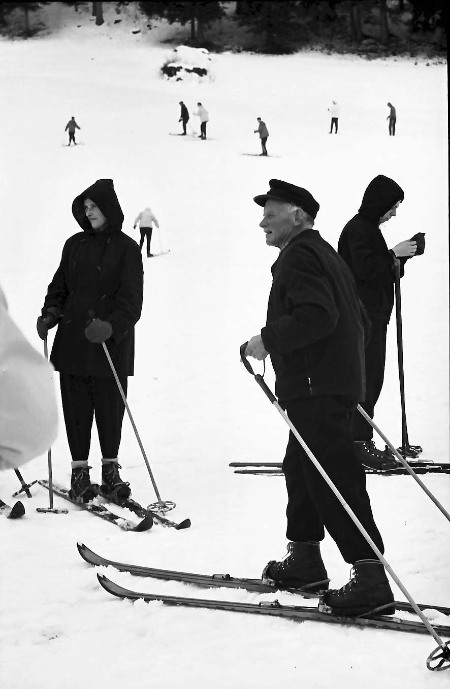 Hinterzarten: Vater Albert Thoma als Skilehrer, Bild 1