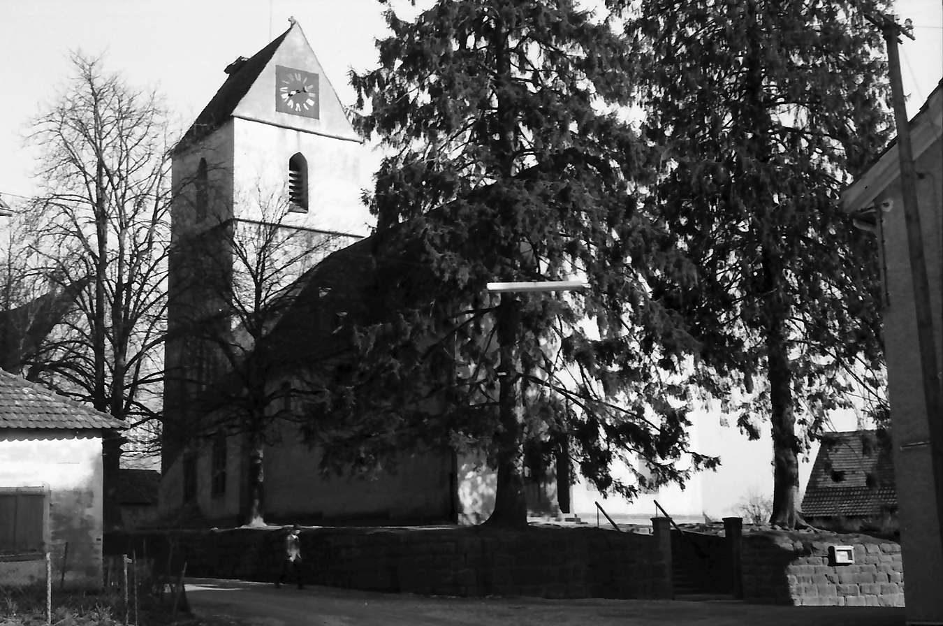Tannenkirch: Kirche, Bild 1