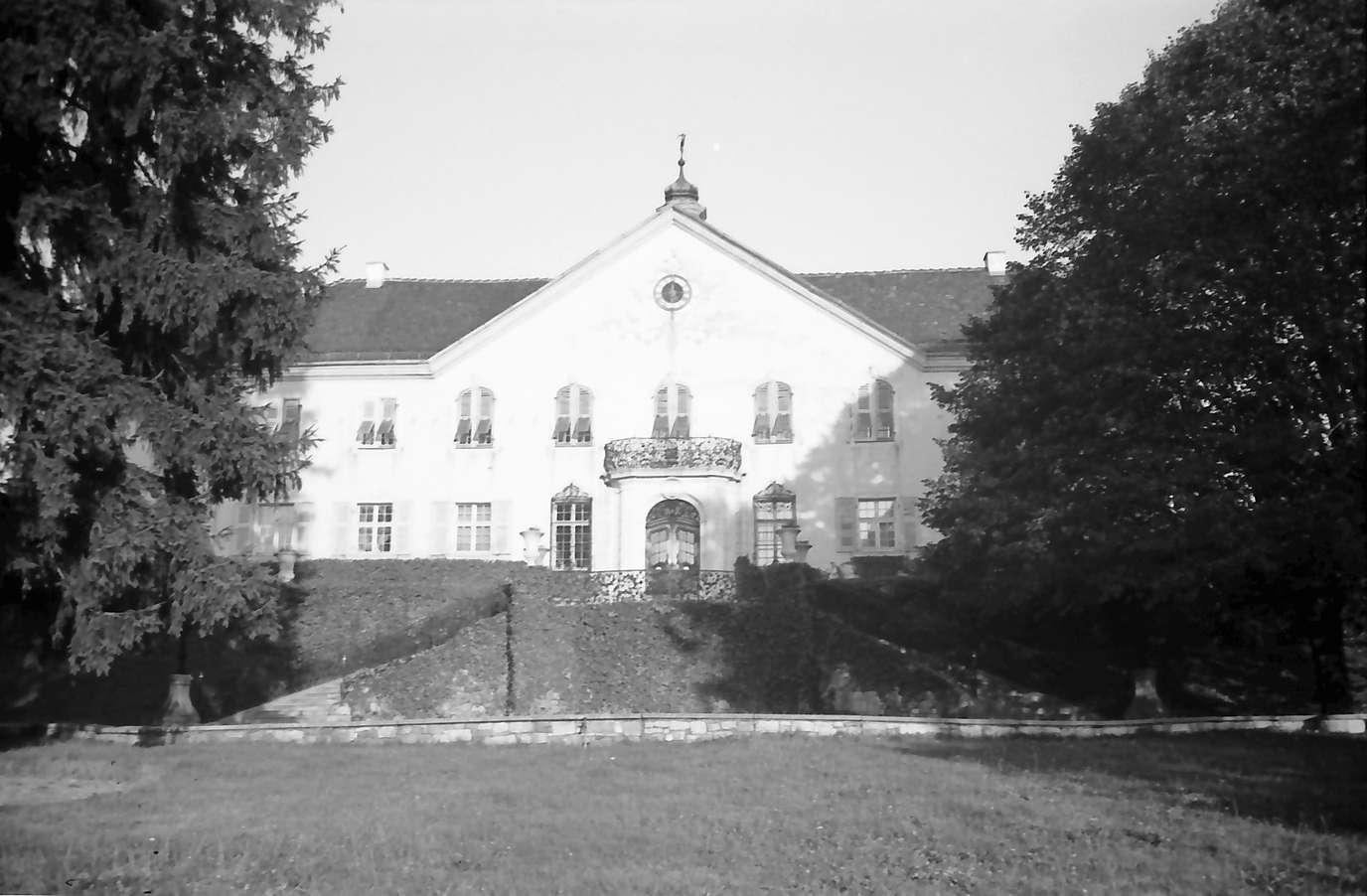 Schliengen: Schloss Bürgeln; Außenansicht, Bild 1