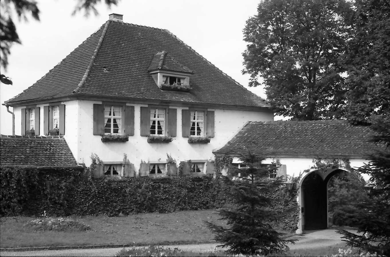 Schliengen: Schloss Bürgeln; Schlosswirtschaft, Bild 1