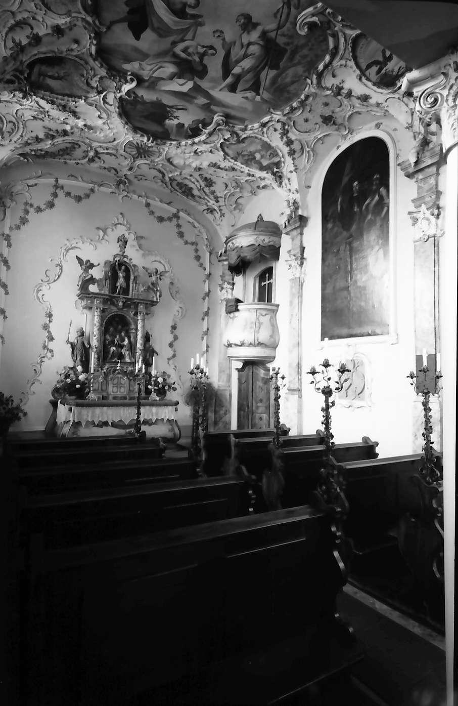 Schliengen: Schloss Bürgeln; Schlosskapelle, Bild 1