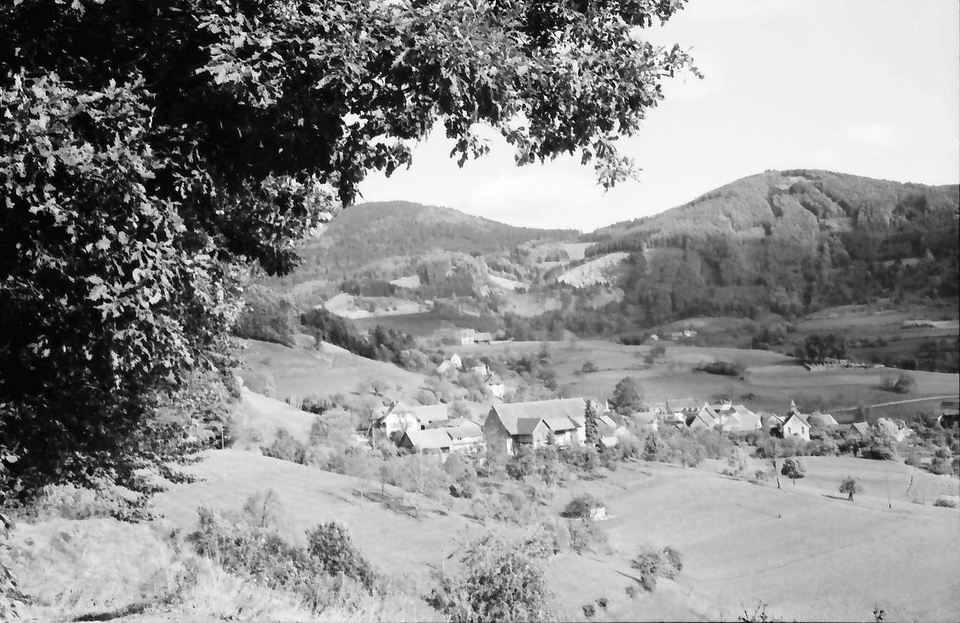 Vogelbach: Blick auf Ort, Bild 1