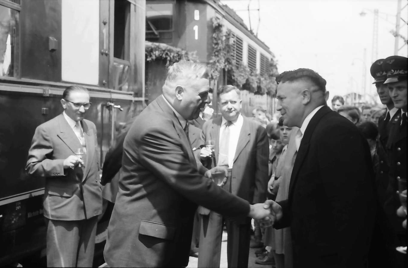 Herbolzheim: Empfang und Begrüßung, Bürgermeister, Bild 1