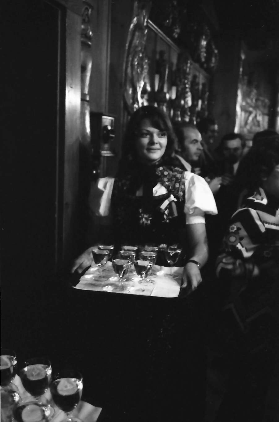 Triberg: Empfang im holzgeschnitzten Saal des Rathauses, Bild 1