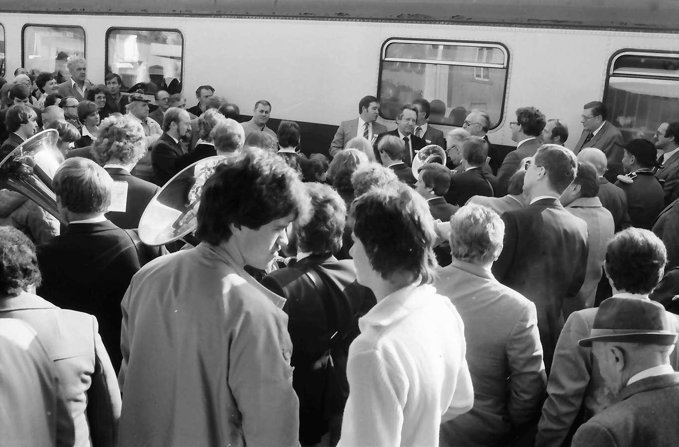 Albbruck: Gruppen; Empfang im Bahnhof, Bild 1