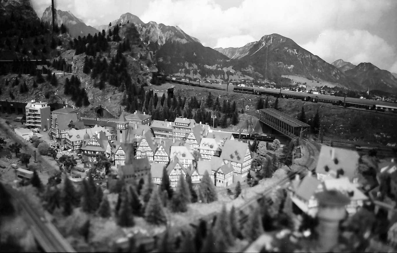 Waldshut: Modelleisenbahnanlagen im Zug, Bild 1