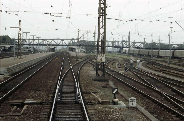Weil: Verschiebebahnhof; Gleise und Ablaufweg, Bild 1