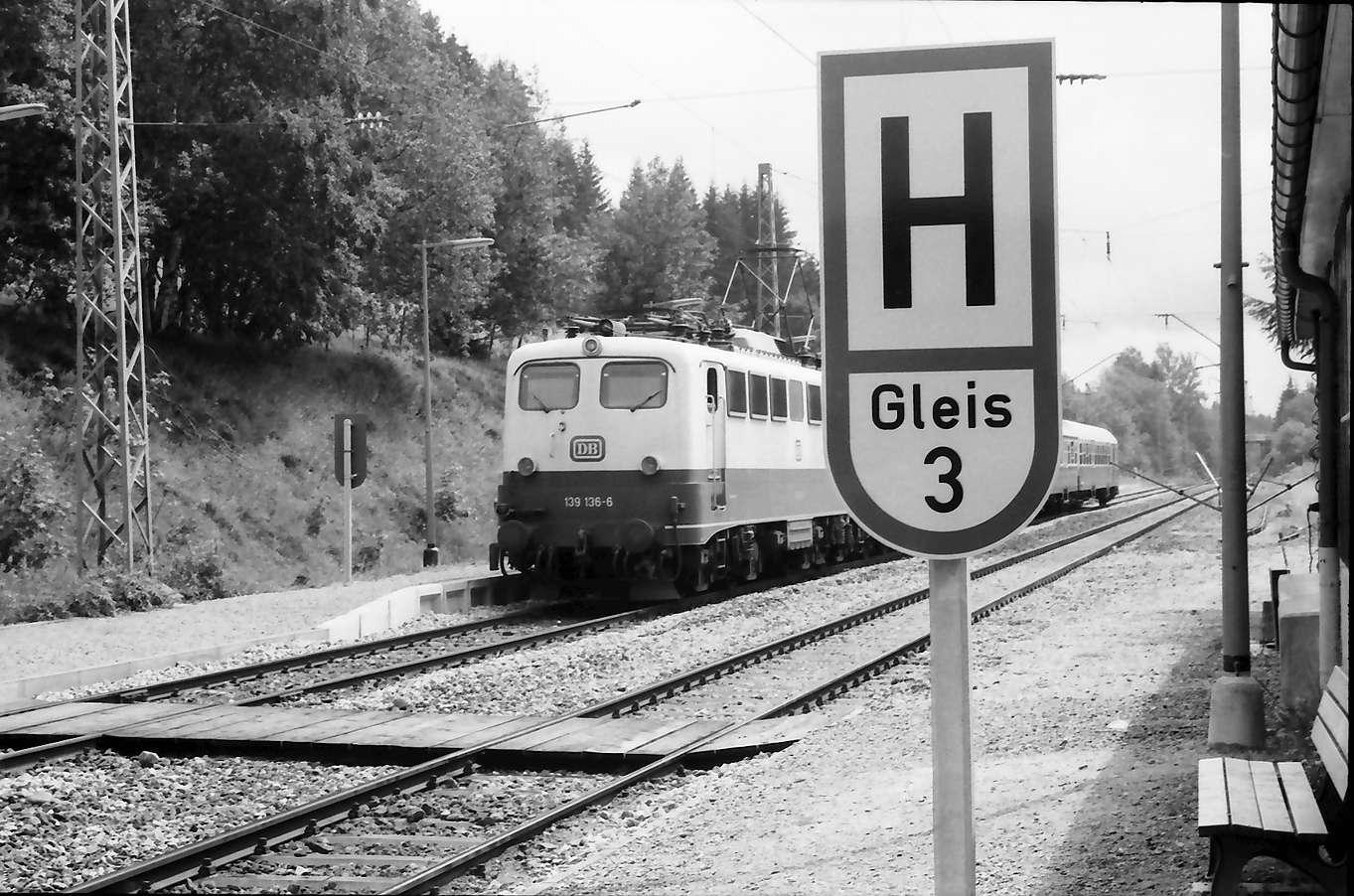"""Aha: neues Signal """"H Gleis"""" für automatische Strecke, Bild 1"""