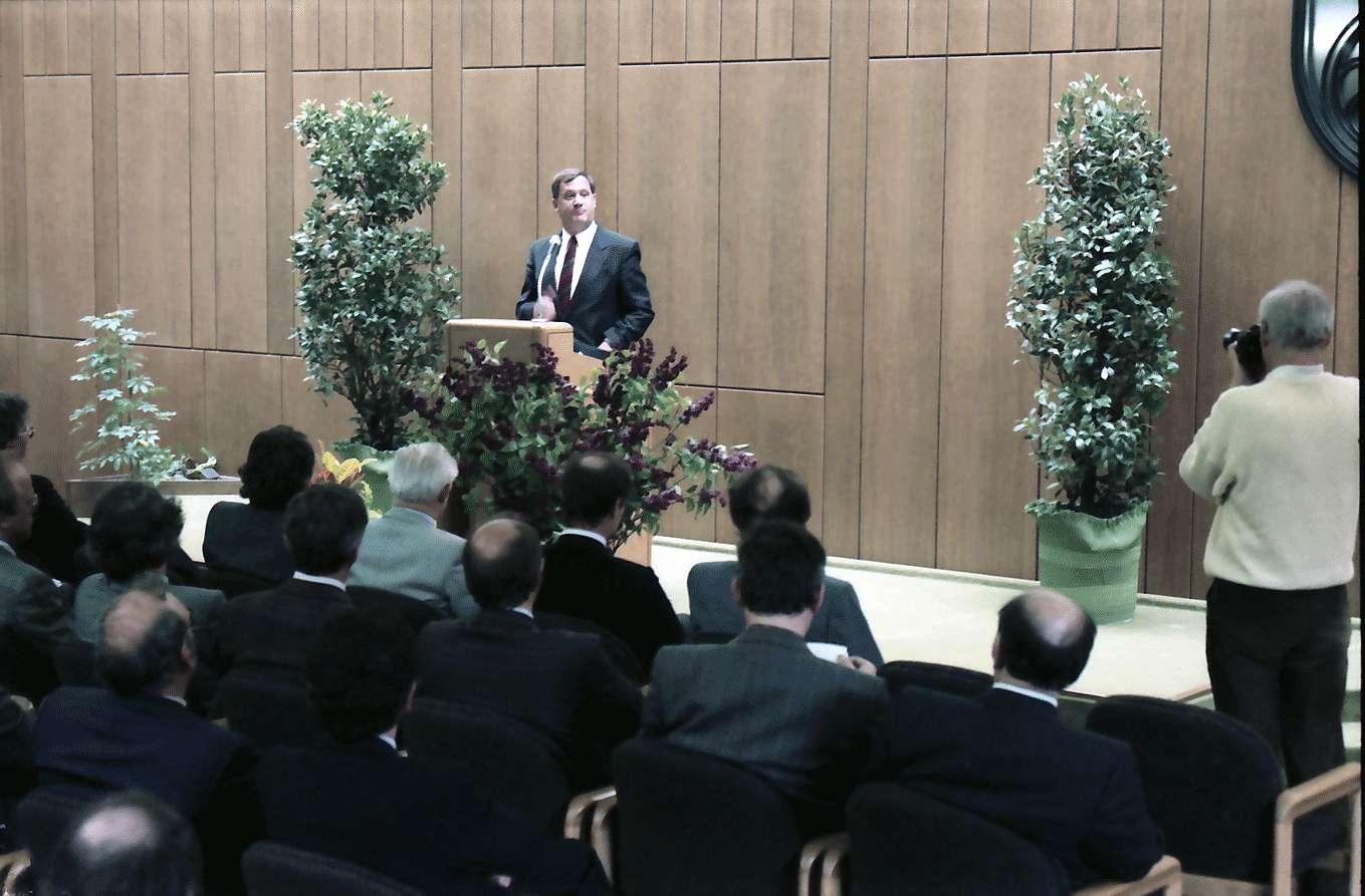 Waldshut: Festakt im Landratsamt; Redner Wirtschaftsminister Schlee, Bild 1