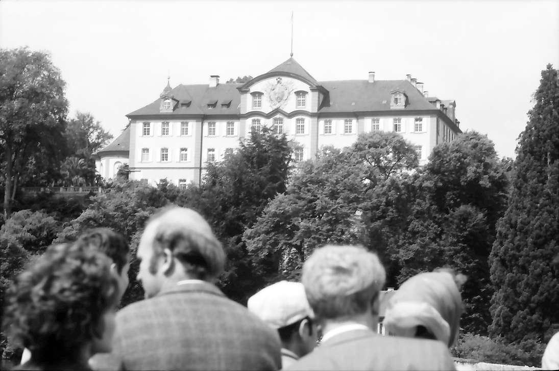 20. Tagung 1970 Chemiker; Mainau: Ankunft, Bild 1