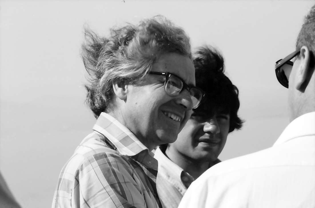 26. Tagung 1976 Physiker; Aufbruch zur Mainau: Antony Hewish, Bild 1