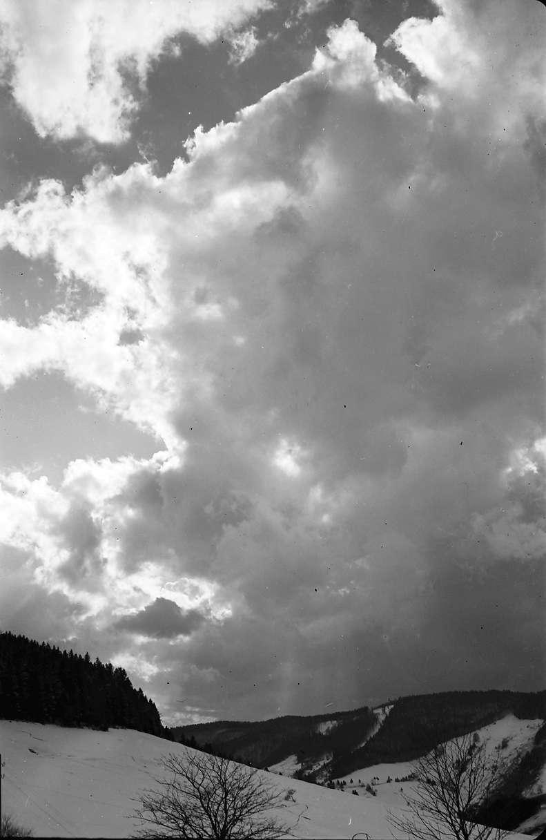 Todtnauberg: Wolken über dem Todtnautal, Bild 1
