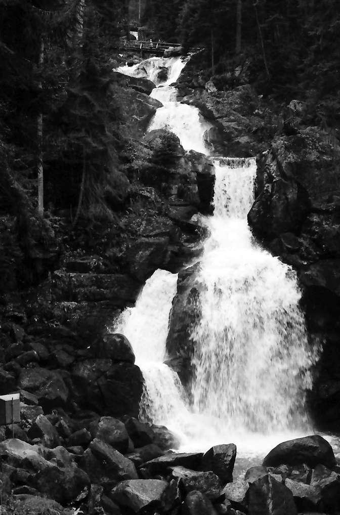 Triberg: Triberger Wasserfälle, Bild 1