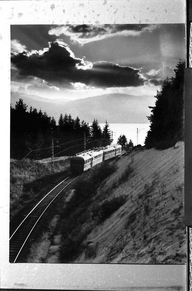 Schluchsee: Triebwagen der Dreiseenbahn, Bild 1