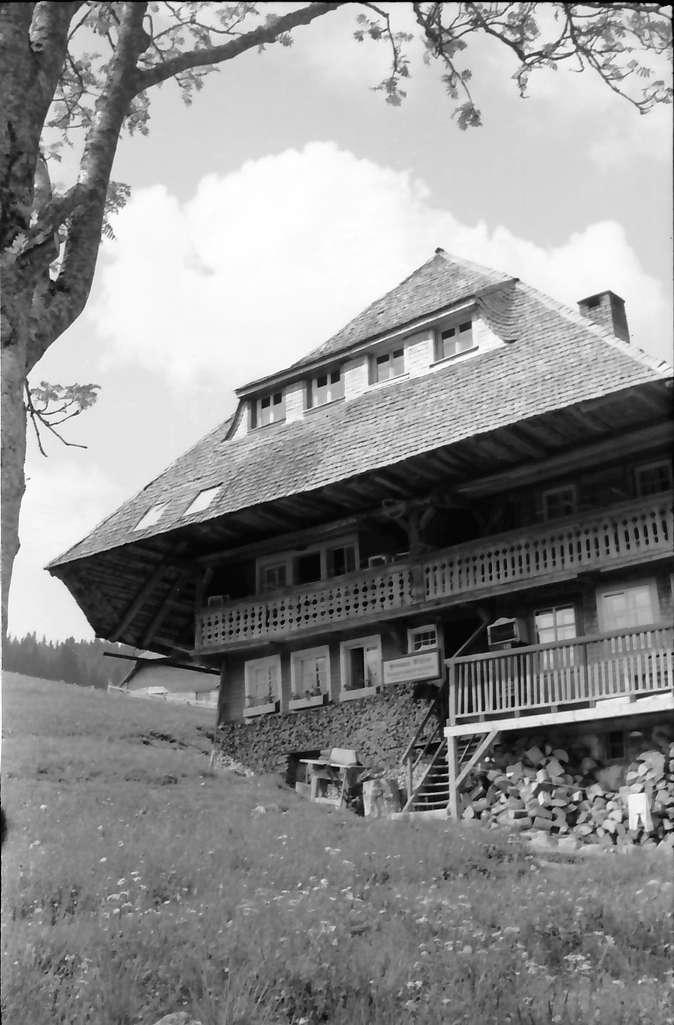 Todtnauberg: Schwarzwaldhaus, Bild 1