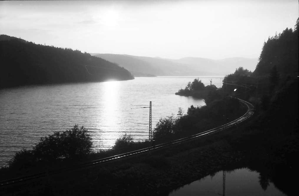 Schluchsee: Abendstimmung am Schluchsee, Bild 1