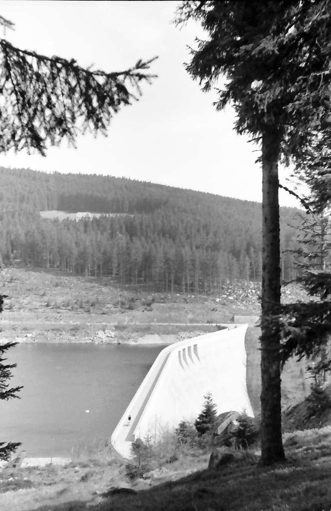 Schluchsee: Schluchsee Staumauer, Bild 1