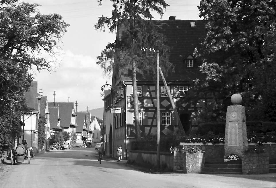 Vörstetten: Straße in Vörstetten, Bild 1