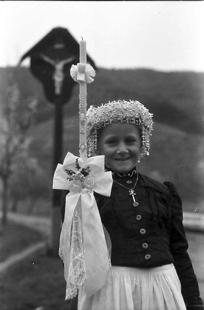 Glottertal: Das Fräulein Fehrenbach vor Marterl; näher, Bild 1