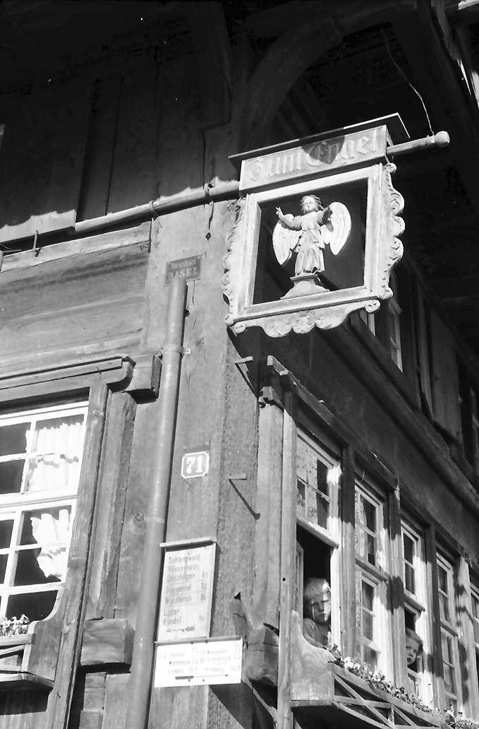 Glottertal: Gasthaus zum Engel; Aushängeschild, Bild 1