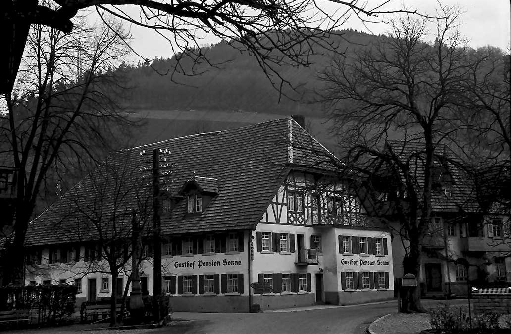 Oberprechtal: Gasthaus zur Sonne, Bild 1