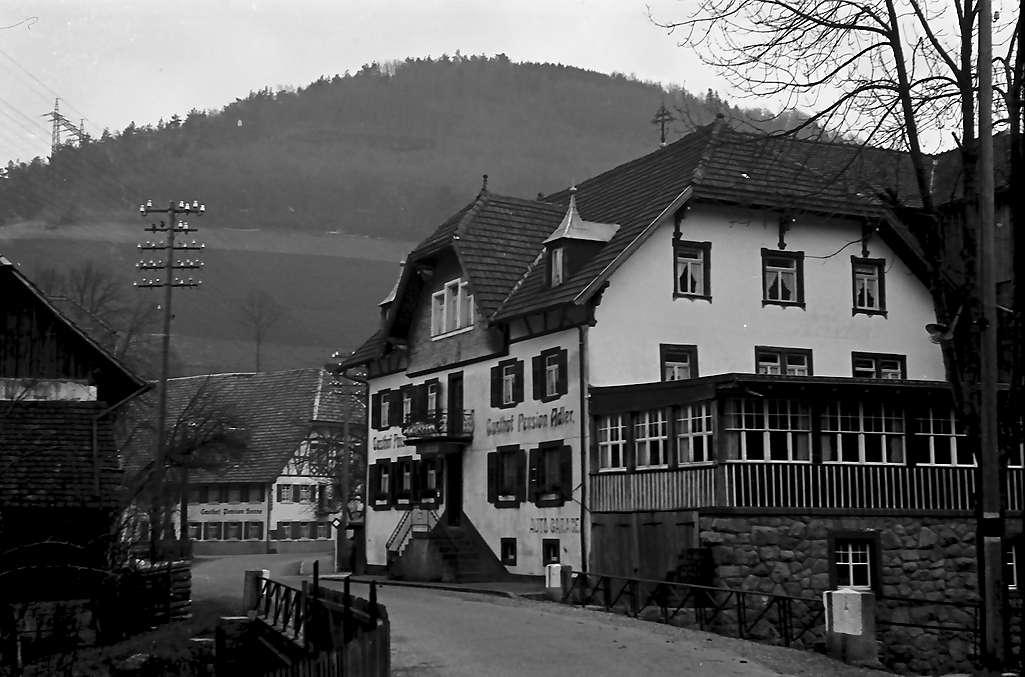 Oberprechtal: Gasthaus Adler; außen, Bild 1
