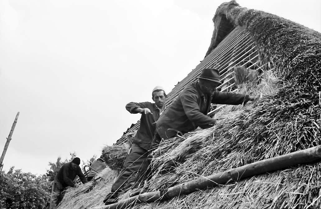 Glottertal: Strohdach wird neu gedeckt, Bild 1