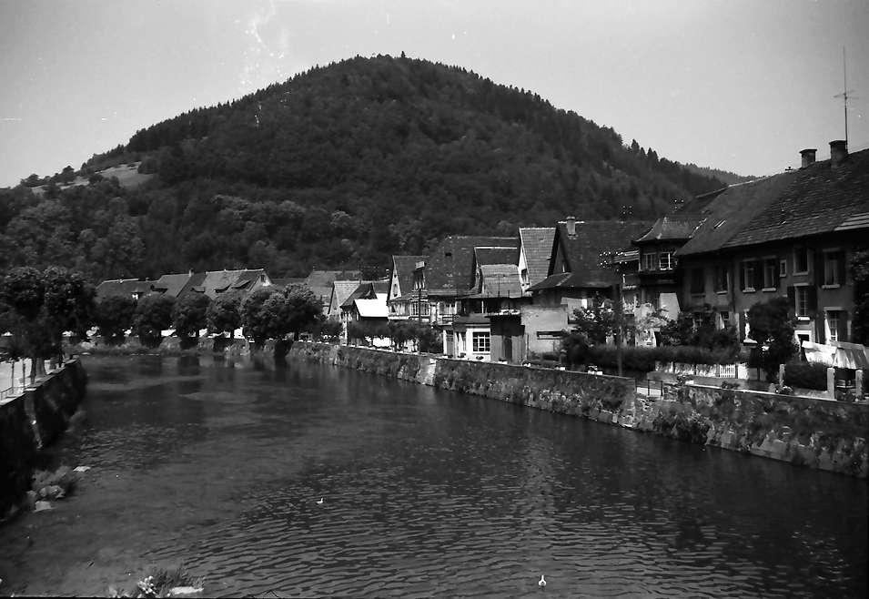Wolfach: Kinzigtal mit Kinzig, Bild 1