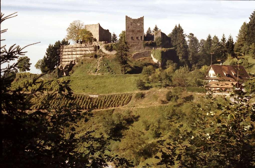 Oberkirch: Schauenburg: 11. Jahrhundert; die Herzöge von Zähringen, Bild 1